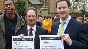 Nick Clegg and Julian Huppert