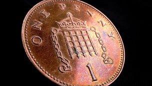 1p coin