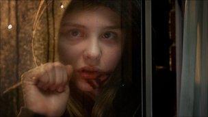 Abby (Chloe Moretz) in Let Me In