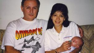 David Kimber Howard and family