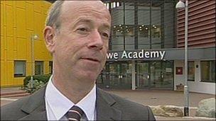 Principal Ian Johnson