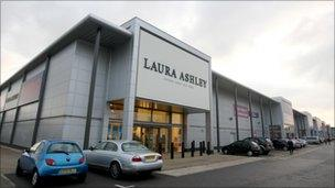 Laura Ashley shop in Reading