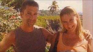 Virginia Owen and her brother Daniel