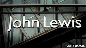 John Lewis sign