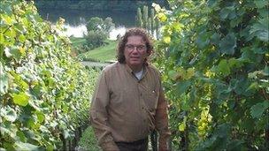 Riesling grower Ernst Loosen, Germany