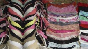 Stash of underwear