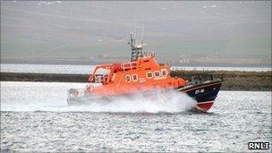 Lifeboat. Pic: RNLI