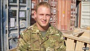 Acting Corporal David Barnsdale