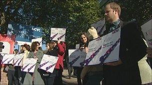 Oxon Anti-cuts Alliance protest