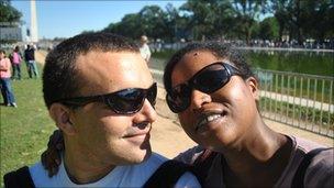 Jaume and Jerusha, Washington DC
