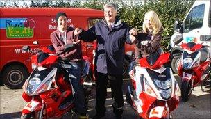 Somerset Rural Youth Project, Moped Loan Scheme