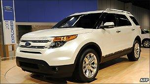 Ford's redesigned Explorer SUV