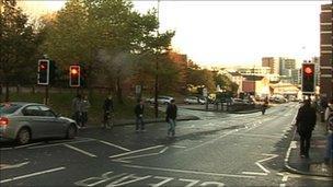 Broad Lane in Sheffield