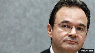 Greek finance minister, George Papaconstantinou