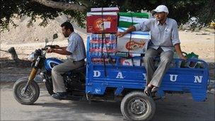 Tuk-tuk in Gaza