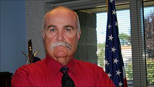 Sheriff Richard Jones (image: Jason Margolis)