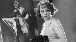 Anny Ondra in Hitchcock's Blackmail