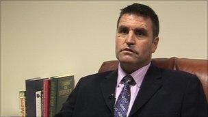 Detective Inspector Steve Langford