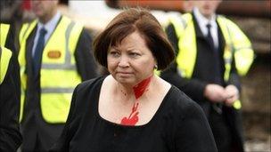 Irish health minister Mary Harney