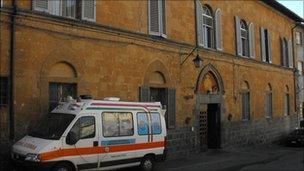 Acquapendente hospital, Italy