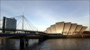 Glasgow across the River Clyde