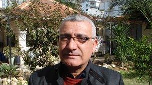 Palestinian economist Omar Shabban