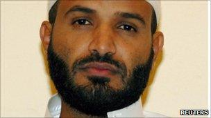 Former Guantanamo detainee Jaber al-Faifi (undated handout photo)