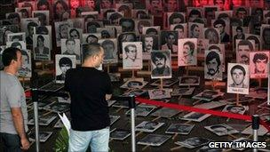 Exhibition remembering the victims of the 1980 coup (07 Sept 2010)