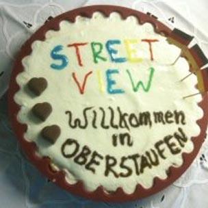 Street View cake