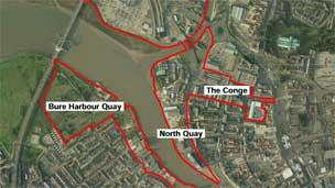 Area for development in Great Yarmouth