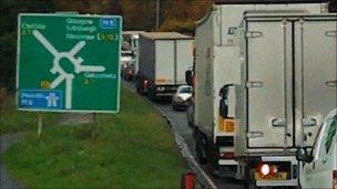 M6 crash near Carlisle