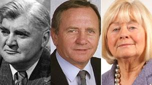 Aneurin Bevan, Allan Rogers and Ann Clwyd