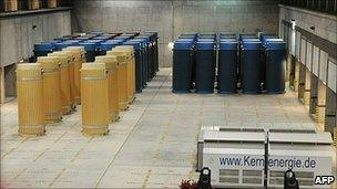 Nuclear storage facility in Gorleben, Germany - file picture