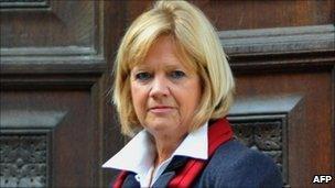 Lady Justice Hallett