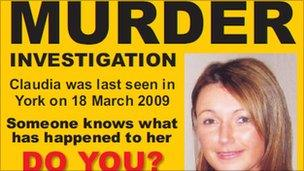 Claudia Lawrence Poster