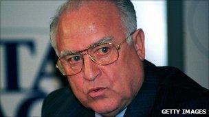 Former Russian Prime Minister Viktor Chernomyrdin