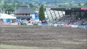 The Royal Welsh Show main ring in July