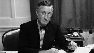 Ian Fleming on 24 March. 1958