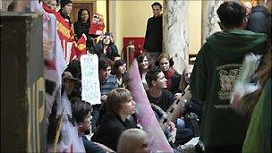 Student occupation at Goldsmiths