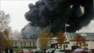 Fire in Newton Aycliffe