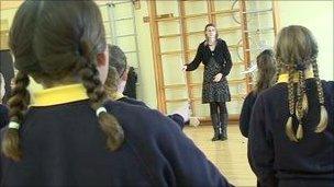 St Clement's School signing choir