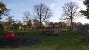 Playground at Beau Sejour