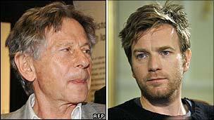 Roman Polanski and Ewan McGregor