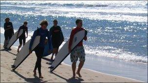 Gold Coast surfers