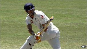 England's Kevin Pietersen is bowled by Shane Warne during the 2006 Ashes series in Australia