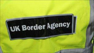 UK Border Agency uniform