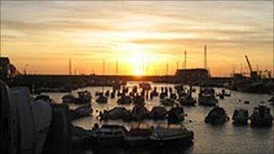 Bridlington marina
