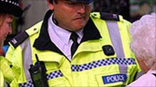 Police in community