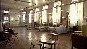 Empty Hospital Beds