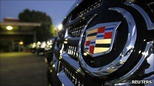 Vehicles for sale at a Cadillac dealer
